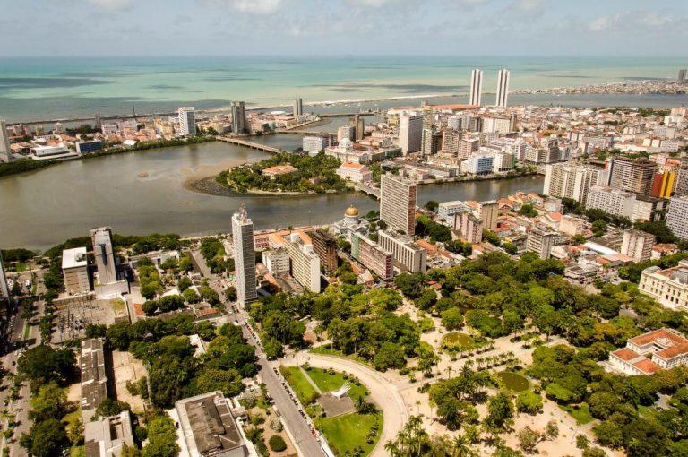Bairro da Boa Vista Recife Pernambuco Brasil 1